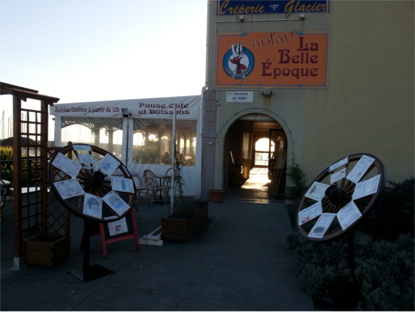 Restaurant La Belle Epoque Port Bourgenay